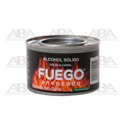 Fuego envasado Alcohol sólido