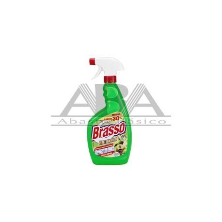 Brasso Antigrasa Manzana Verde 500ml