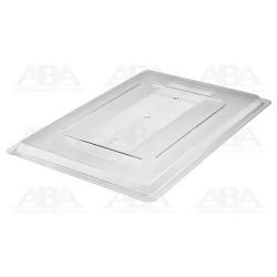 Tapa de caja para alimentos transparente 3302