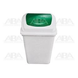 Cesto 65 (Blanco) balancín frontal verde 8146VD
