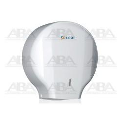 Dispensador de papel higiénico Elegance blanco CP-0204-B