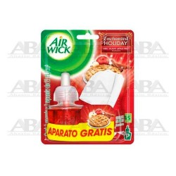 Air Wick® Eléctrico Difusor y Repuesto Enchanted Holiday Mrs. Claus Apple Pie
