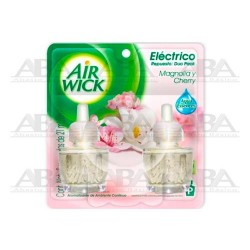 Air Wick® Eléctrico Repuesto Magnolia y Cherry Duo Pack