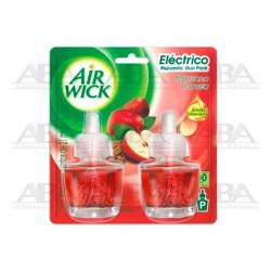Air Wick® Eléctrico Repuesto Manzana Canela Duo Pack