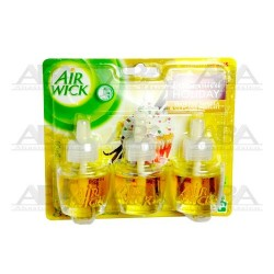 Air Wick® Eléctrico Repuesto Frosted Vanilla & Cupcake Delight Tri Pack
