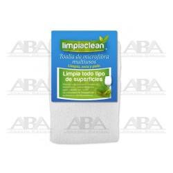 Toalla de microfibra blanca Limpiaclean®