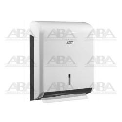 DISPENSADOR DE TOALLA INTERDOBLADA BLANCO JVD CLEANLINE 899604