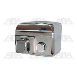 Secador pulsador Silver Inoxidable AA91126