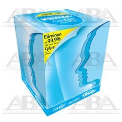 Pañuelo Facial Kleenex® Antiviral Cubo 89353