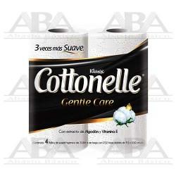 Higiénico Tradicional Kleenex® Cottonelle® Gentle Care 252 hjs
