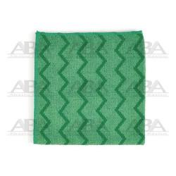 Paños de microfibra verde Rubbermaid HYGEN® FGQ62000