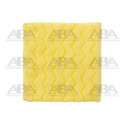 Paño de microfibra amarillo Rubbermaid HYGEN® FGQ61000