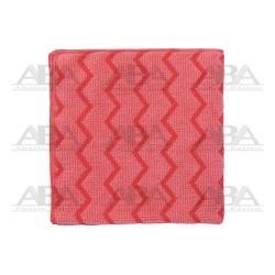 Paños de microfibra rojo Rubbermaid HYGEN® FGQ62000