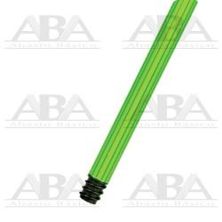 Bastón plastificado bicolor universal 120 cm