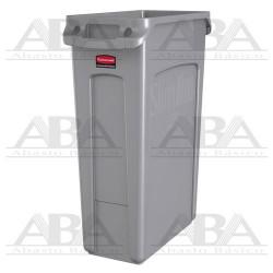 Contenedor Slim Jim® Gris con canales de ventilación FG354060 GRAY