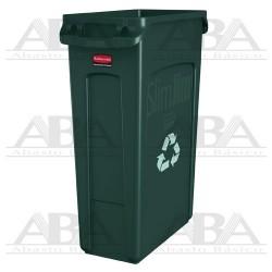 Contenedor Slim Jim® FG354007 GRN Reciclaje
