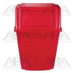 Contenedor de pared Slim Jim® 1829402 RED