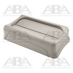 Tapa oscilante para contenedores Slim Jim® FG267360 BEIGE