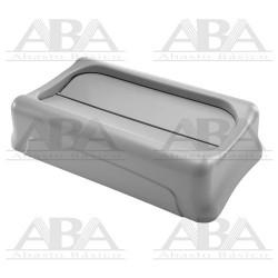 Tapa oscilante para contenedores Slim Jim® FG267360 GRAY