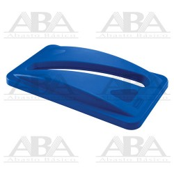 Tapa para reciclar papel Slim Jim® FG270388 BLUE