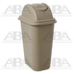 Combo de Cesto de basura y tapa Untouchable® FG307120 BEIGE