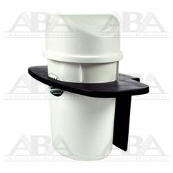 Cesto balancín Mini blanco con base 8232BL