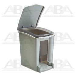 Cesto de baño 8L gris 8064GR
