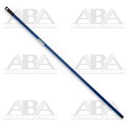 Bastón de aluminio con doble rosca azul 140 cm