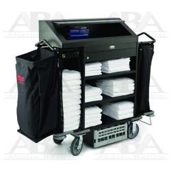 Carro compacto para Ama de Llaves Executive® Alta Seguridad FG9T7800 BLACK
