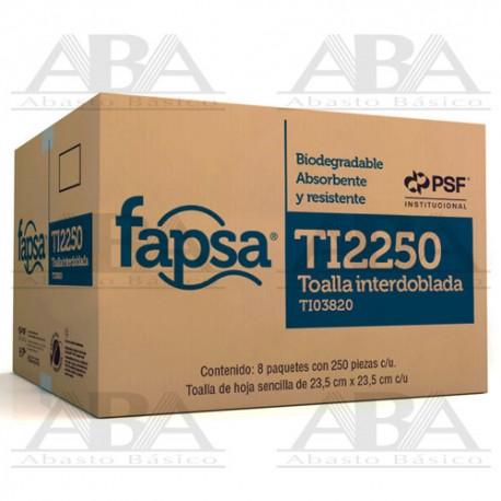 Toalla interdoblada Fapsa TI2250 TI03820
