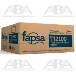 Toalla Interdoblada Fapsa TI2100 TI03890