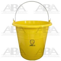 Cubeta de plástico Torino® 14L Amarilla