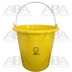 Cubeta de plástico Torino® 12L Amarilla