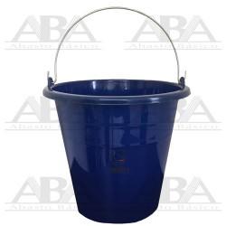 Cubeta de plástico Torino® 12L Azul Rey