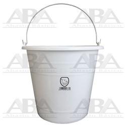 Cubeta de plástico Torino® 12L Blanca