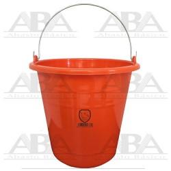 Cubeta de plástico Torino® 12L Naranja