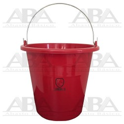 Cubeta de plástico Torino® 12L Roja