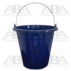 Cubeta de plástico Torino® 14L Azul Rey