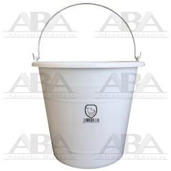 Cubeta de plástico Torino® 14L Blanca