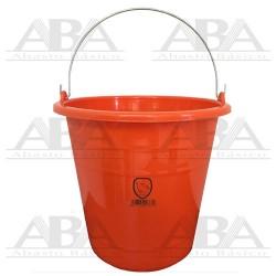 Cubeta de plástico Torino® 14L Naranja