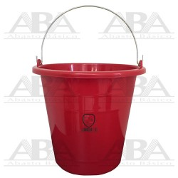 Cubeta de plástico Torino® 14L Roja