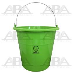 Cubeta de plástico Torino® 14L Verde