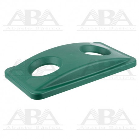 Tapa verde Slim Jim® para reciclaje de botellas para contenedores Slim Jim® FG269288