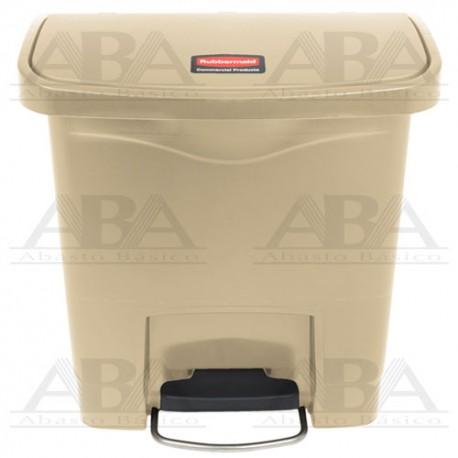 Contenedor de plástico Slim Jim® Front Step-On 1883455 BEIGE