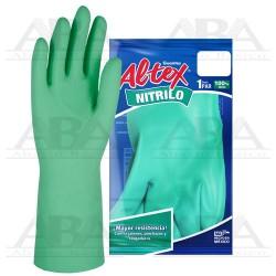 Guante de Nitrilo CH - 7 ½, 8 GUANTES ALTEX®