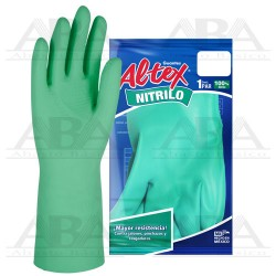 Guante de Nitrilo CH - 8 ½, 9 GUANTES ALTEX®