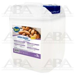 Jabón líquido para manos Almendra 5L Tipps Line®