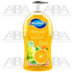 Jabón para Manos Antibacterial Natural Orange 500 ml Blumen