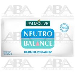 Jabón de tocador Dermolimpiador en Barra 150 G Palmolive Neutro Balance