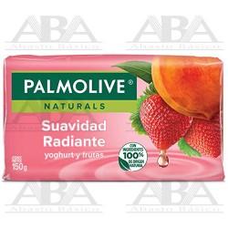 Jabón de tocador Suavidad Radiante en barra 150 gr Palmolive Naturals